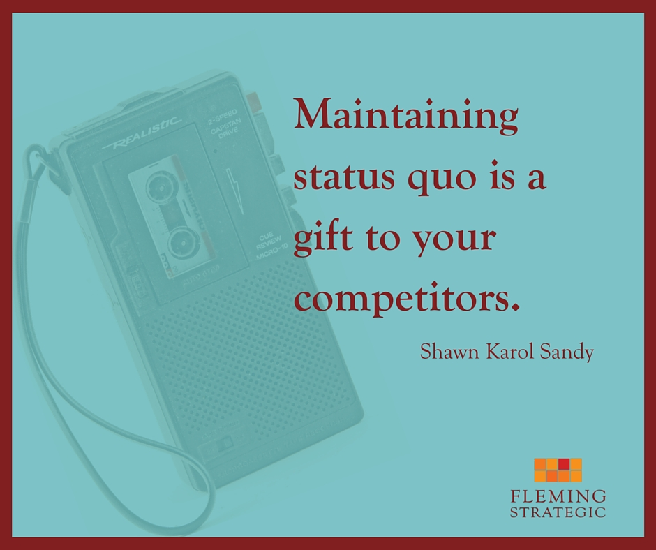 Maintaining status quo