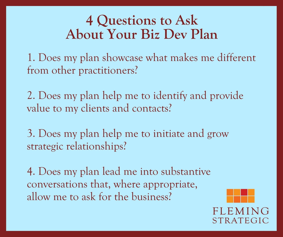 Biz dev plan questions (2)